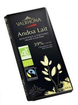 Neue Bio-Schokolade: Andoa-lait