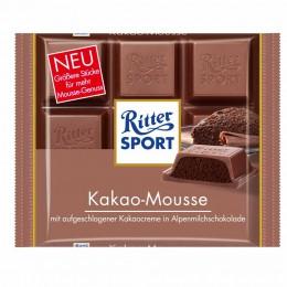 Neu ab Mitte August: Ritter Sport Kakao Mousse