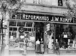 Eines der ersten Reformhäuser