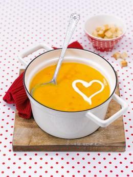 K.O. Suppe mit Karotten und Orange