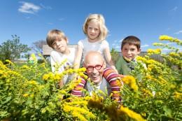Auch Kinder können auf dem Kräuterfest viel entdecken