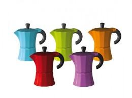 Farbenvielfalt: Morosina Espressokocher