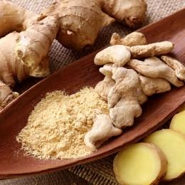 Ingwer verleiht Speisen ein herrlich leckeres Aroma und wirkt dabei wohltuend auf Körper und Geist