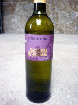 Scheurebe 2011 vom Weingut Scheuring