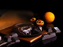 GÜ Schokoladen-Vulkan Orange