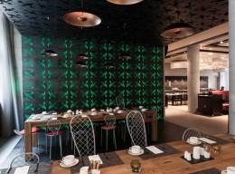 Das Restaurant 1700 im Barceló Hamburg