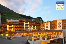Das Hotel Klausnerhof wurde mit dem Holidaycheck Award 2012 ausgezeichnet