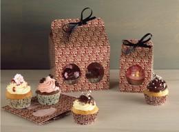 Give a smile!: Schöne Verpackungen für Muffins und Cupcakes