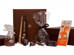 Schokoladenlieferung nach Hause: schokostück