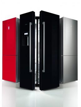 Die elegante Kühl-und Gefrierkombi von Bosch macht in Ihrer Küche was her