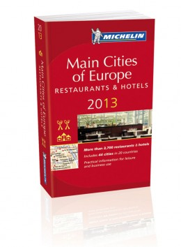 Michelin Guide Main Cities of Europe 2013