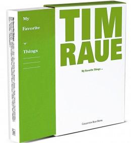 Tim Raue My favorite things