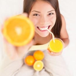 Vitamine sorgen für schöne Haut
