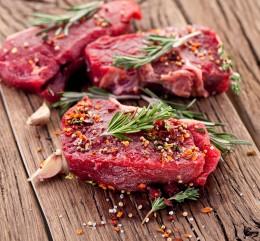 Fleisch und Gewürze