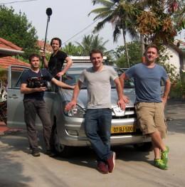 Guerilla Köche die Crew (Fabio Stoll, Jonas Gernstl, Max Jensen und Felix Metzger)