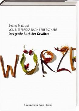 Buchcover Bettina Matthaei: Das große Buch der Gewürze