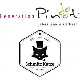 Wein Klang Tage Generation Pinot und Schmitz Katze