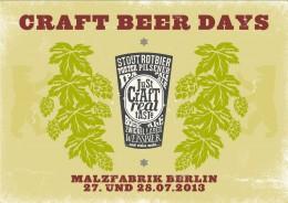 Festival der Handwerksbrauereien: Craft Beer Days in Berlin
