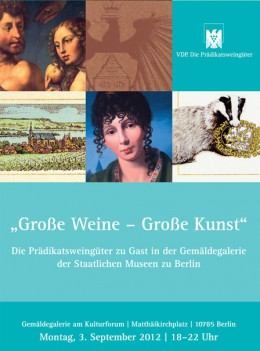 Berlin: Große Weine - Große Kunst