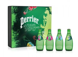 Limited Edition Perrier Mineralwasser