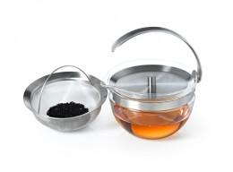 Glasklarer Teegenuss mit der VETRO Teekanne