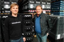 Björn Freitag zu Besuch bei Fritz Kola