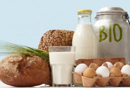 Bio-Milch, Brot, Eier Shutterstock 78328420