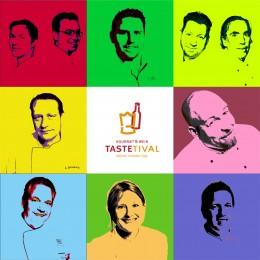 Das offizielle Logo des TasteTivals