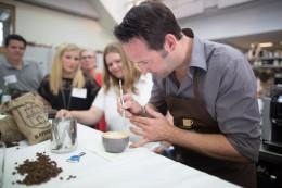 Jörg Kranke zelebriert feinster Latte Art