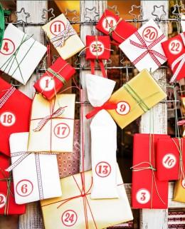 Selbstgemachte Adventskalender sehen hübsch aus und sind tolle Geschenke