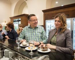 Palermo: Kay-Henner, Francesca essen Granità und Brioche