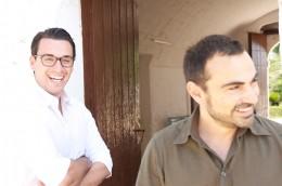 PPURA-Gründer Maurizio Floccari und Cemal Cattaneo