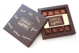 Schokolade hilft immer: 8er Pralinen-Schachtel