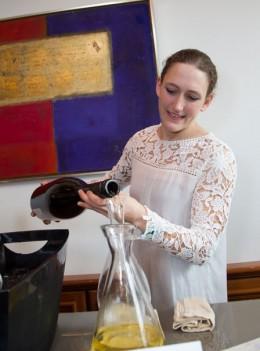 Winzerin Theresa Breuer: Gast auf der 8. BIg Bottle Party