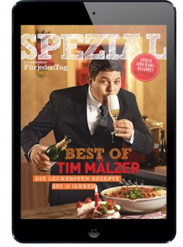"Spezial: ""Best of Tim Mälzer"" als Heft und eMag ab dem 24. April"