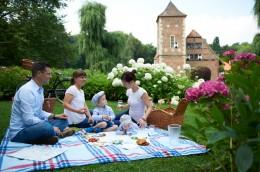 Kulinarische Reise Münster Picknick Burg Hülshoff