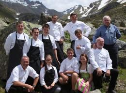 Kulinarischer Jakobsweg 2013: Schirmherr Witzigmann mit Köchen und Helfern