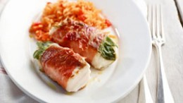 Fisch-Saltimbocca