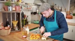 Fabios Kochschule: Gemüsecremesuppe mit Kürbis