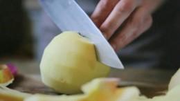 Rezepte fürs Leben, Apfelcrumble mit Vanillesauce