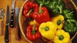 Paprika gibt es in vielen leuchtenden Farben.