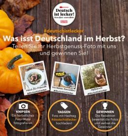 Fotowettbewerb Was isst Deutschland im Herbst 2014