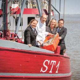 "Mit an Bord des Gourmet Festivals: Das Team des ""ambassador"" in St. Peter Ording"