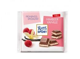 Neue Frühlingssorte von Ritter Sport: Himbeer-Vanille