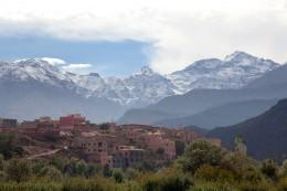 Marrakesch Gebirgskette Hoher Atlas