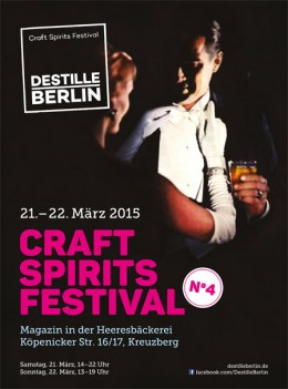 Craft Spirits Berlin Destille 2015