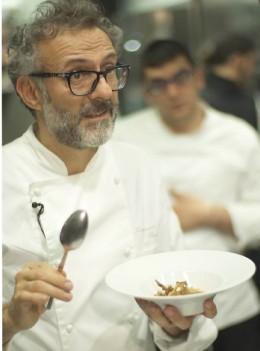 Der italienische Sternekoch Massimo Botturo entdeckt London