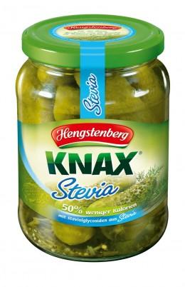Gewürzgurken Knax mit Stevia von Hengstenberg