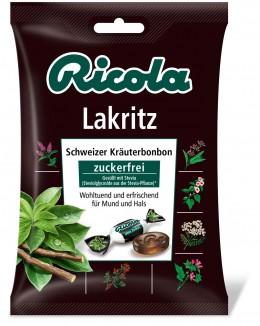 Ricola Bonbons mit Lakritz und Stevia