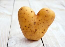 Diese herzförmige Kartoffel ist ein sogennannter Misfit.